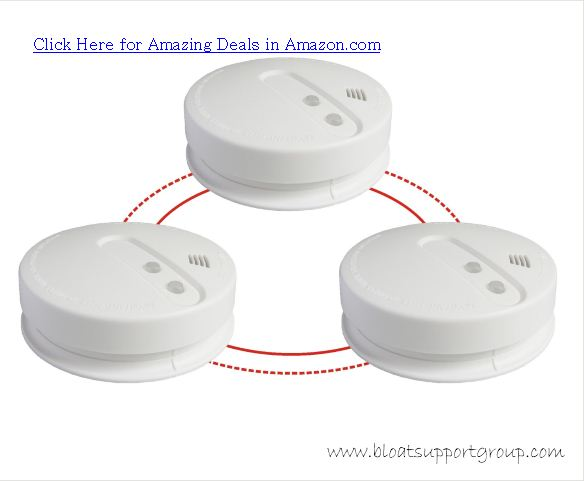 kidde battery powered wireless smoke alarm